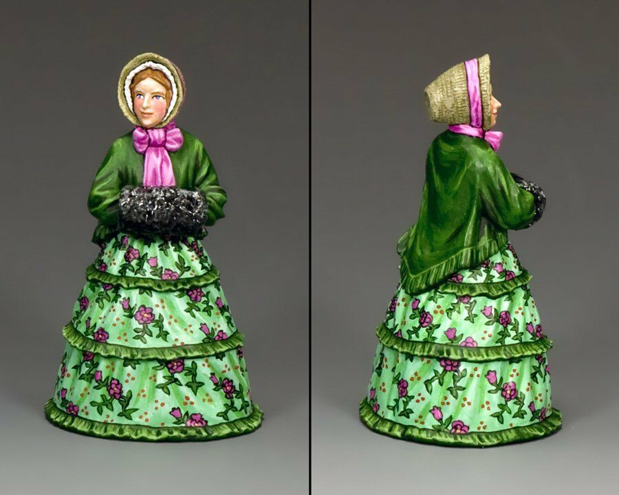 KING KING AND COUNTRY Dickens - Miss Greene WoD009 WoD09 Painted Metal