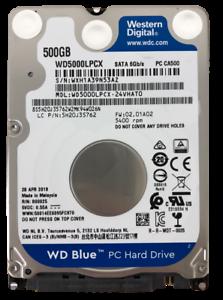 """WD Blue 500GB/ 1TB 2.5"""" 5400rpm SATA Laptop Hard Drive for HP DELL LENOVO"""