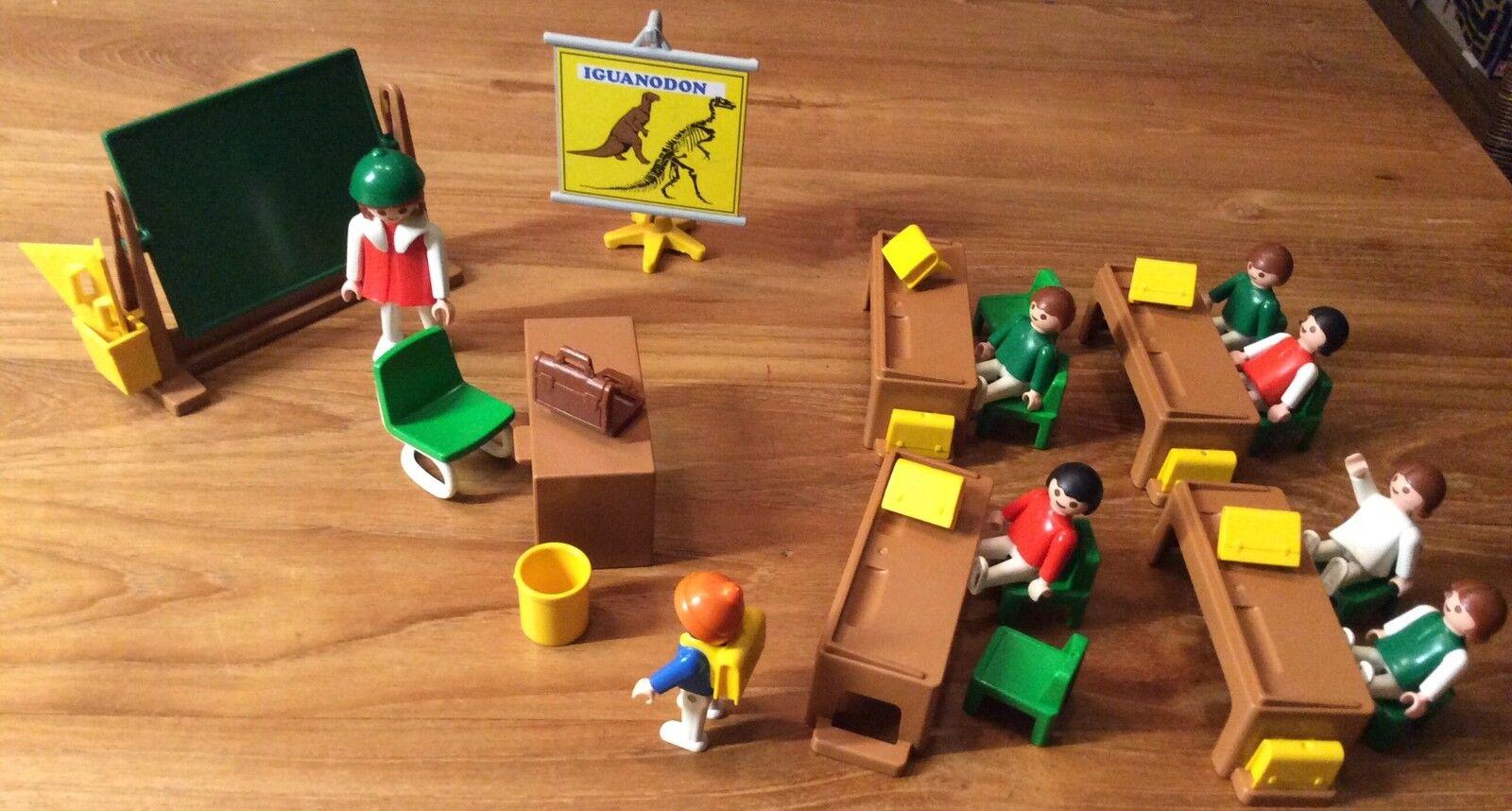 PLAYMOBIL Klassenzimmer Schule Dinosaurier 3522