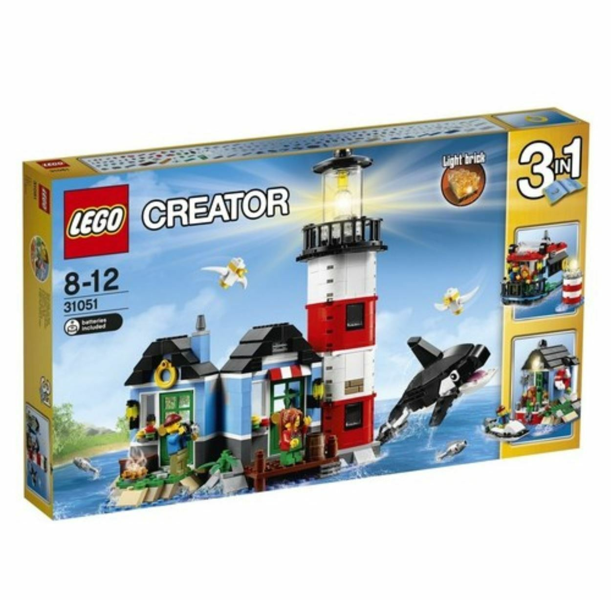 [LEGO] CREATOR ljushouse Point 31051 2016 Version fri Shipping