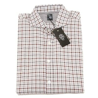 Camicia ELEVENTY uomo linen a quadri