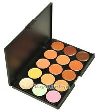 15 Color Neutral Makeup Eyeshadow Camouflage Facial Concealer Palette