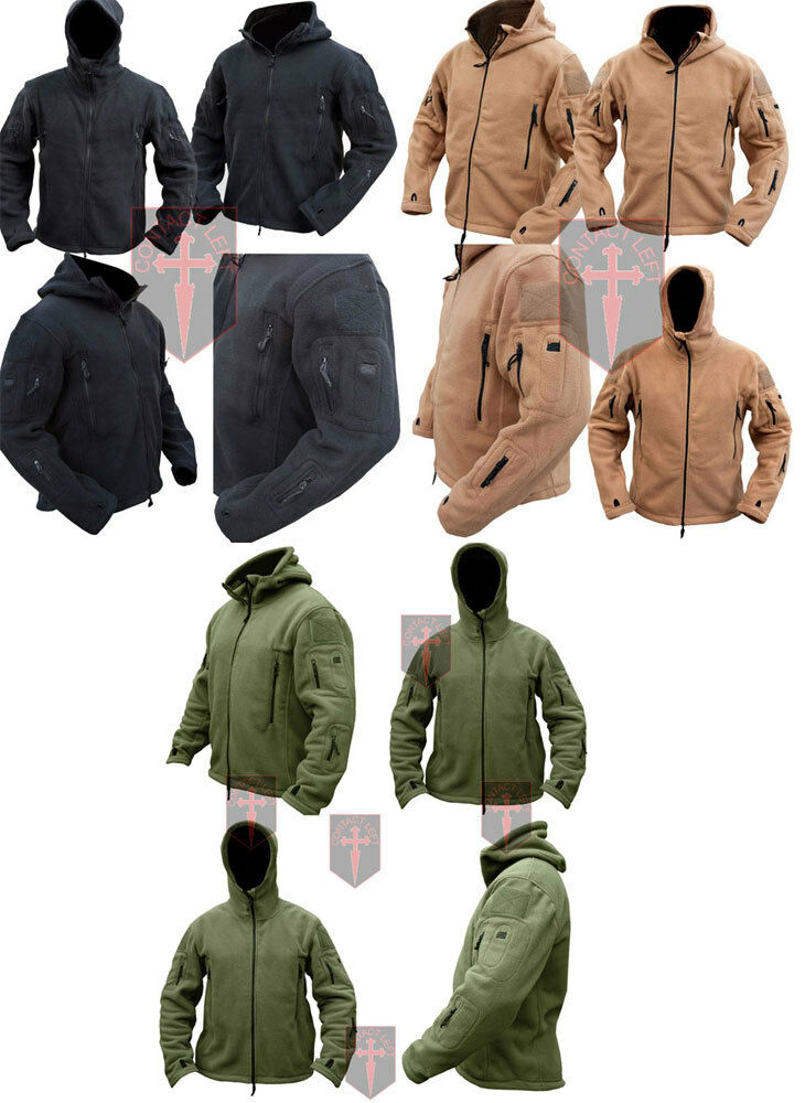 Tactical military Fleece Recon Hoodie ( All Sizes unisex military design Warm