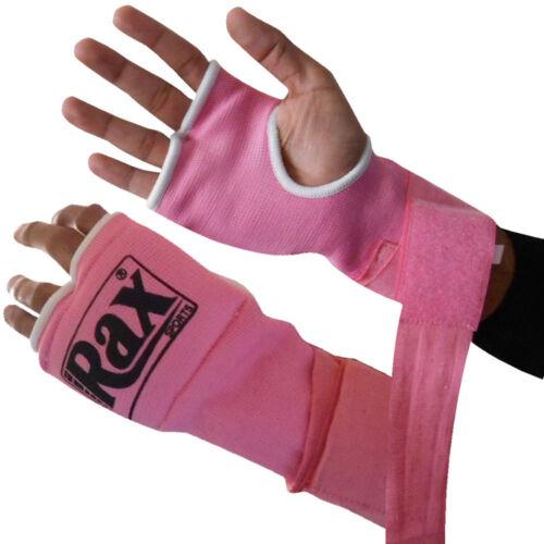 Boxing Bandage Inner Hand Wraps Gel Padded MMA Bag Gloves Protective Training