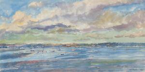 Henry-E-Foster-1921-2010-1966-Watercolour-Brest-Sound-Brittany