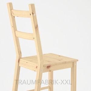 Ikea Bois Massif Chaise De Cuisine Pin Ivar