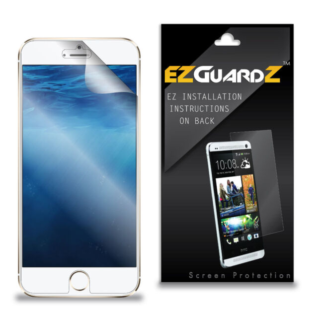 new styles 8b6c3 2e62e 6x EZguardz Screen Protector Skin Cover Shield HD 6x for Apple iPhone 6s  (clear)