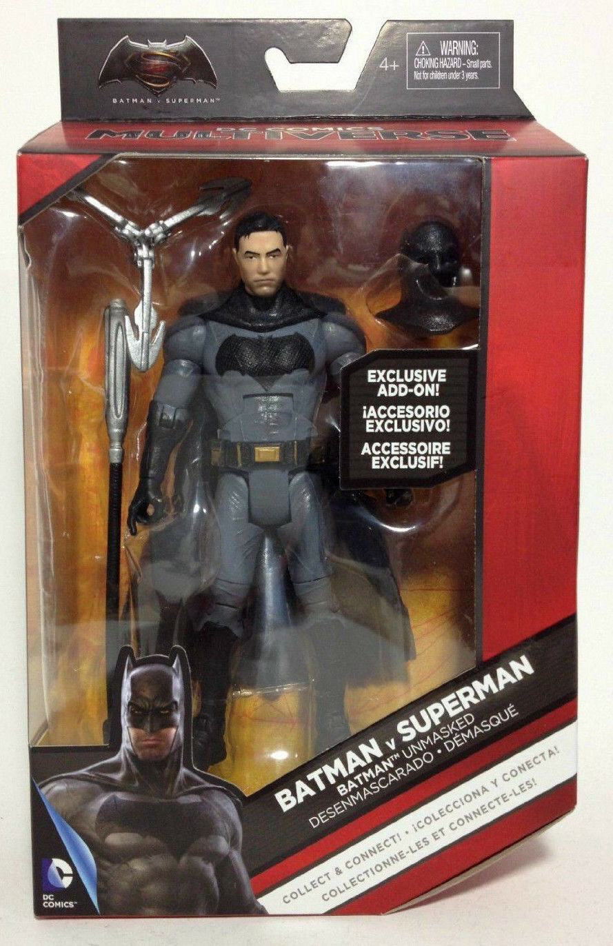 DC Comics Multiverse_BATMAN v SUPERMAN Collection_BATMAN Unmasked 6   figure_MIP