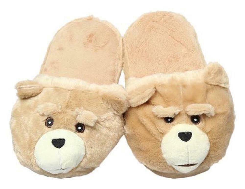 Ted The Movie Plush Slippers