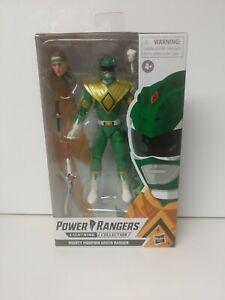 Hasbro E8966 Power Rangers Lightning Green Ranger 6 inch Action Figure