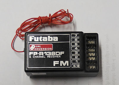 FUTABA FP-R138DF 8 CHANNEL RECEIVER 35MHz TESTED /& WORKING