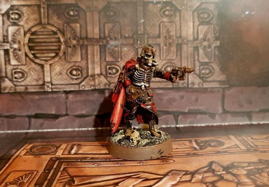 sport caldi Death Korps of Krieg Quartermaster painted rare exclusive Warhammer Warhammer Warhammer 40k  la migliore moda