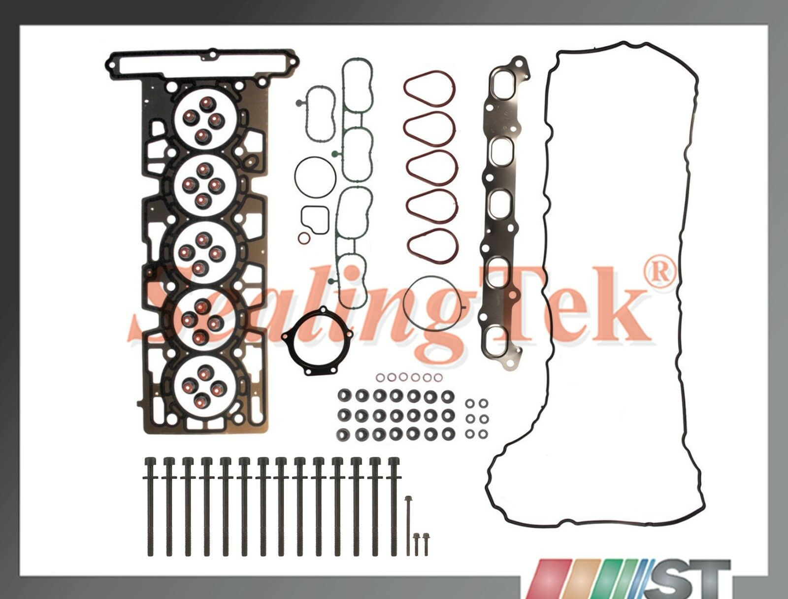 Details about Fit 04-06 GM 3 5L Engine Cylinder Head Gasket Set w/ Bolts  Atlas Vortec 3500 L52