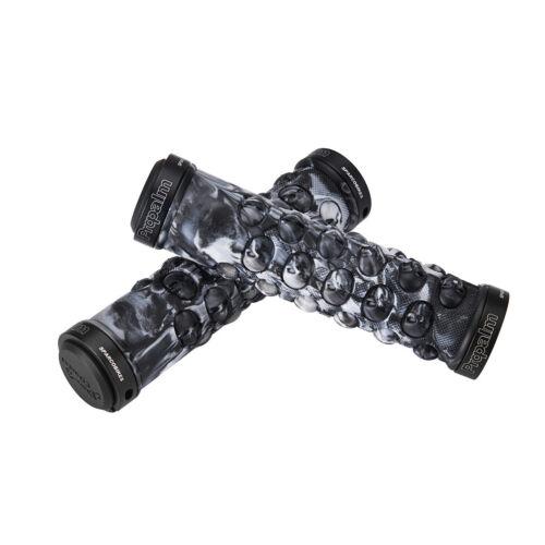 Propalm MTB Grips Handlebar Grips TPR Rubber Lock-on Grips Fixed Gear White