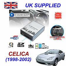 CELICA 1998-2002 MP3 SD USB CD AUX Input Audio Adapter Digital CD Changer Module