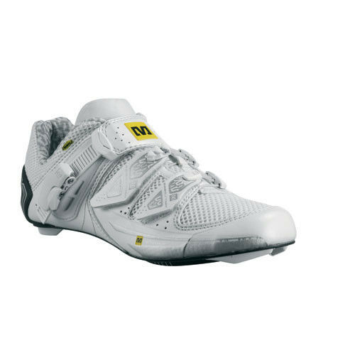 Mavic Ladies Xena Carbon Road Road Road scarpe US size 10.5 EU 43 1/3 bianca Nuovo e1339a