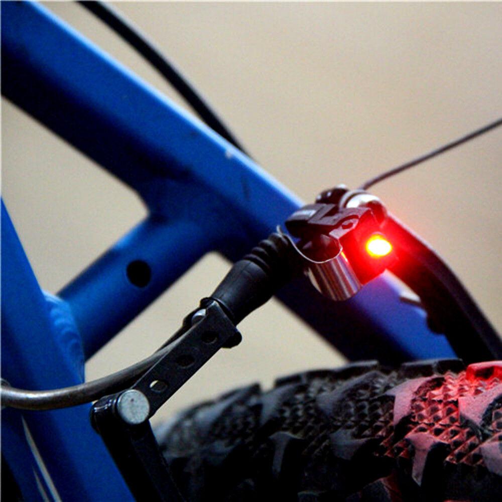 1pcs Mini Bike Brake Light MTB Road Bicycle LED Tail Rear Lights Safety Warning