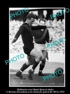OLD-8x6-HISTORICAL-PHOTO-OF-MELBOURNE-DEMONS-FC-GREAT-STUART-SPENCER-c1954