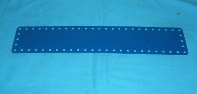 meccano repro 1 plaque//bande flexible No197 bleue