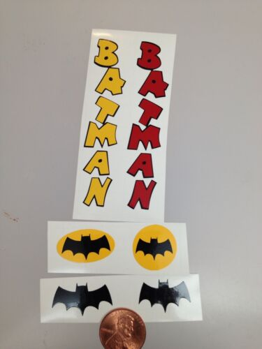 Die Cut Batman Decals For The Revell Reissue Kits