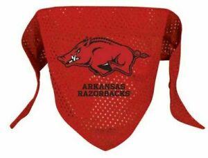Small Arkansas Razorbacks Dog Bandana