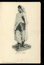 Israel ethnic JEWISH GIRL Jeune Juive dress costume u/b early PPC