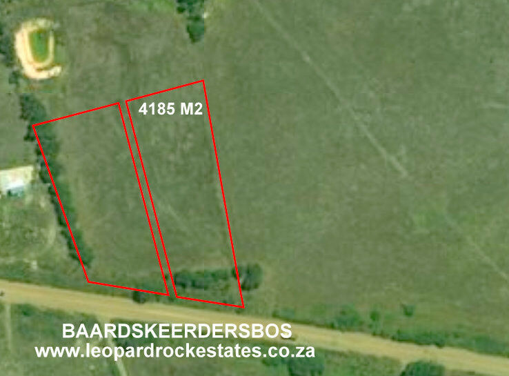 Baardskeerdersbos - 4185 m2 plot for sale at edge of town - Good views + some business potential