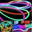 STRISCIA-STRIP-FLEX-LED-BOBINA-NEON-12v-220v-FLESSIBILE-TUBO-ESTERNO-1m-a-100m miniatura 1
