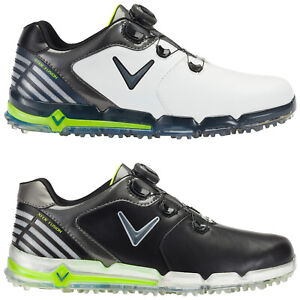 Callaway-Mens-Xfer-Fusion-Spikeless-BOA-Golf-Shoes-Waterproof-Leather-Tour