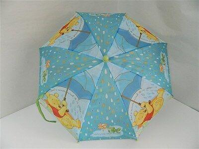 Imparato Ombrello Ombrellino Pioggia Bambini Winnie The Pooh Multicolore Con Stampe T585