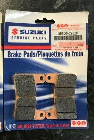 2004 /> SUZUKI  GSXR 1000  K4 SINTERED FRONT BRAKE PADS 2x Sets