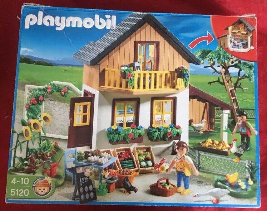 Playmobil • 5120• Bauernhaus mit Hofladen • vollständig • TOP  wie NEU mit OVP
