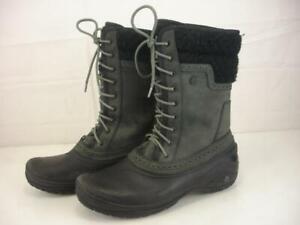 Women-039-s-9-5-M-The-North-Face-Shellista-II-Mid-Black-Waterproof-Boots-Winter-Snow