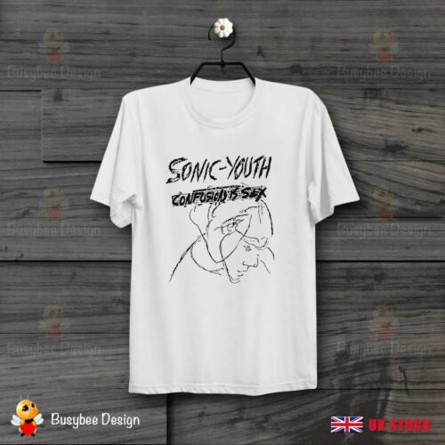 Sonic Youth Confusion Is Sex T Shirt Indie Rock  goo nirvana Unisex T Shirt B701