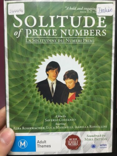 1 of 1 - The Solitude Of Prime Numbers ex-rental region 4 DVD (2010 Italian drama movie)