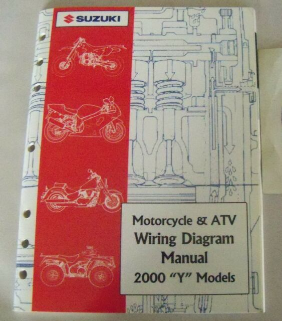 2000 Suzuki Y Model Motorcycle And Atv Wiring Diagram