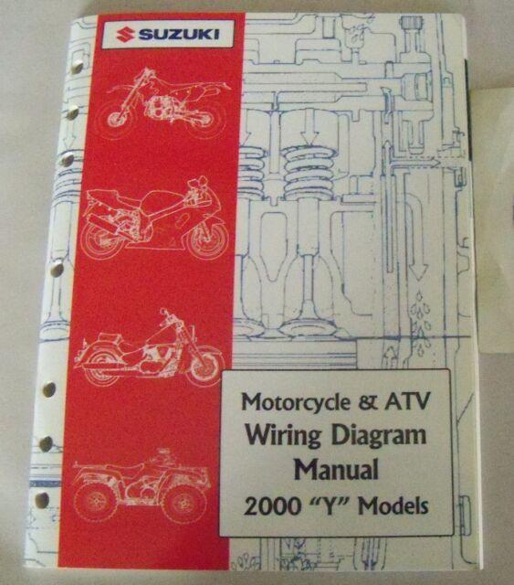 2000 Suzuki Y Model Motorcycle And Atv Wiring Diagram Service Manual