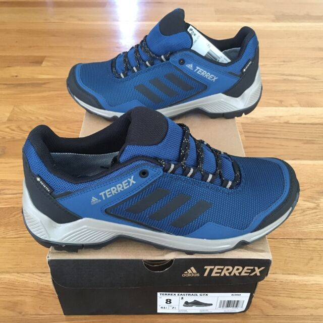 New Adidas Outdoor BC0969 Terrex Eastrail GTX Men's Hiking Shoes Size 8 Gore Tex