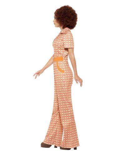 Smiffys 70s Chic Disco Dancer Hippie Adult Womens Halloween Costume 43188