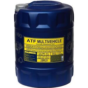 20-Liter-Original-MANNOL-MN8210-20-ATF-Multivehicle-Automatikgetriebeoel-Oil