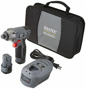 Master Mechanic 147616 Compact Lithium Ion Cordless Impact Driver