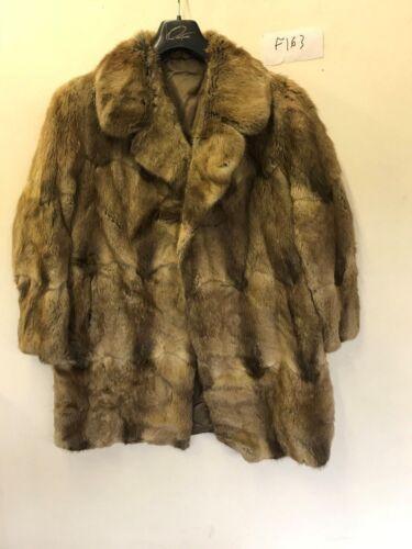 Armhul Length Armhule 33 Brun Coat 23 I Fur Vintage f163 Ladies Real CUaqH