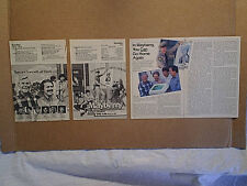 1986 RETURN TO MAYBERRY TV MOVIE Ad & Article,andy griffith,don knotts,gomer