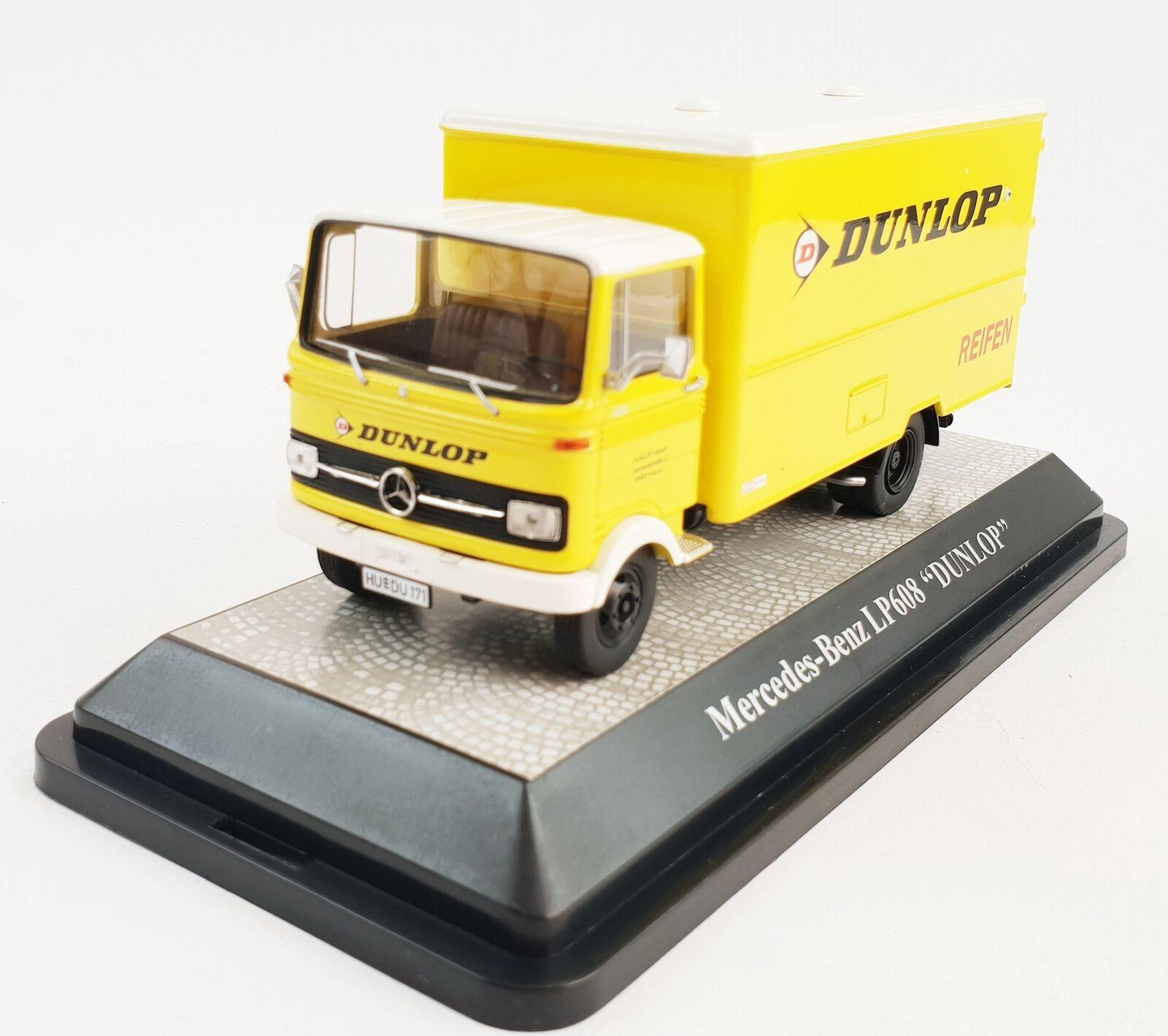 Modèle Mercedes-Benz Camion Voiture de Service Dunlop LP608 1 43 168546