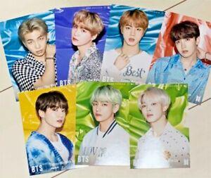 BTS-Lights-Universal-Music-Limited-Official-Photocard-Complete-Set-of-7-JPN-CD