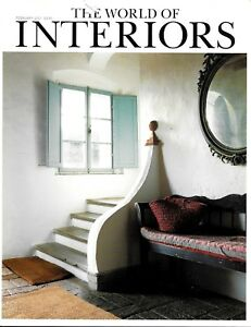 Details About The World Of Interiors Magazine February 2001 Design Decorating Modern Antiques
