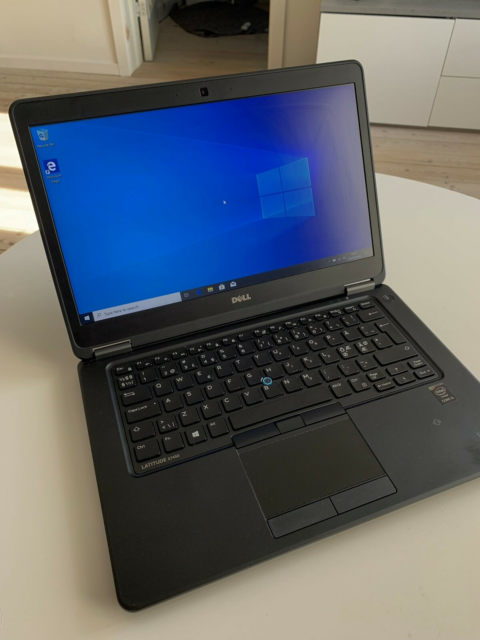 Dell Latitude E7450, 2.3 GHz, 16 GB ram, 256 GB harddisk,…