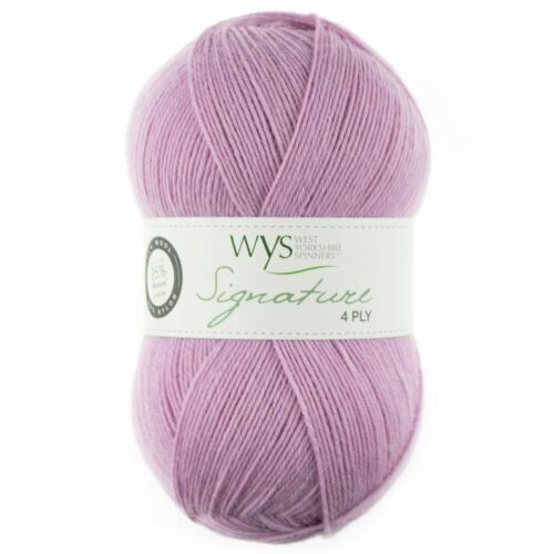 517 Sweet Pea West Yorkshire Spinners Signature 4 Ply Yarn Wool 100g