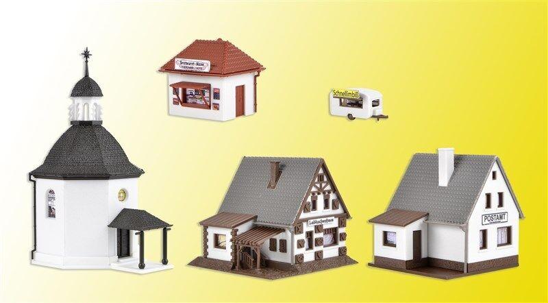 mejor marca Vollmer 47613 Escala N, Aldea con Iluminación,     Nuevo en Embalaje Original    promocionales de incentivo