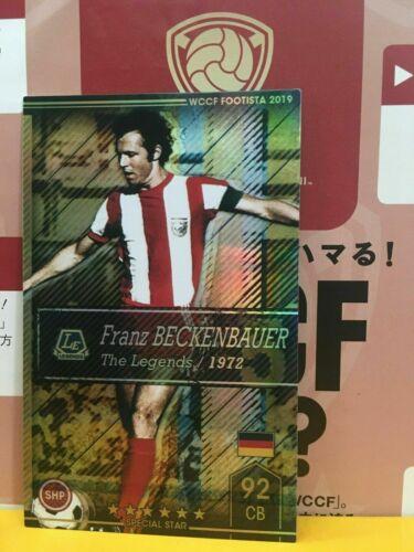 2019 WCCF Footista Franz Beckenbauer Legends 1972 F19-3 LE Mint Bayern Munich